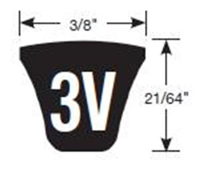 Picture of 3V Belt - 3V600