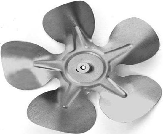 """Picture of 5-Blade 10"""" 31° CCW Fixed Hub Style Propeller"""