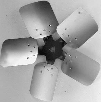 """Picture of 5-Blade 20"""" 33° CCW Condenser Style, Heavy Duty Propeller"""