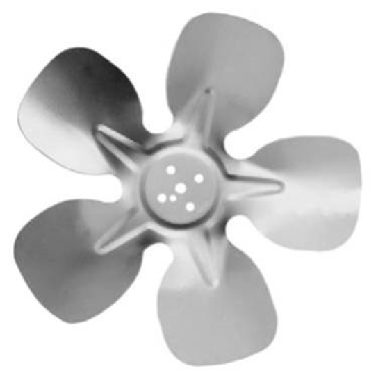 """Picture of 5-Blade 7"""" 31° CW Hubless Style Propeller"""
