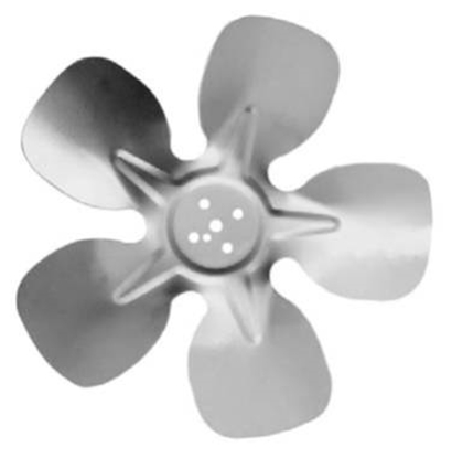 """Picture of 5-Blade 8"""" 24° CW Hubless Style Propeller"""