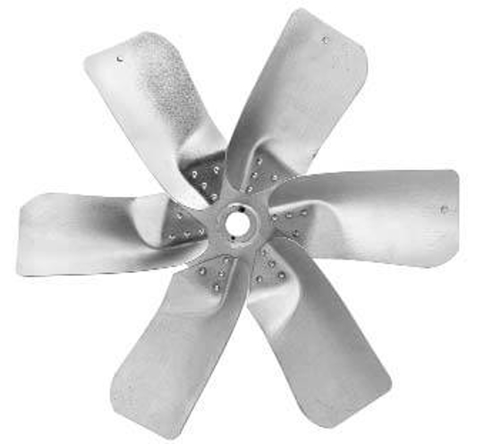 """Picture of 6-Blade 54"""" 40° CW Large Steel, Heavy Duty Propeller **Price includes LTL shipping.  Product can ONLY be shipped to the 48 continental US states.  Product will not be shipped UPS.**"""