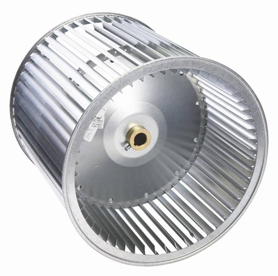 Picture of Double Inlet, Belt Drive Blower Wheel A12-9A (3/4 Bore)