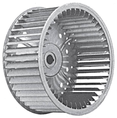 Picture of Single Inlet Galvanized Blower Wheel SI 10-6A CCW